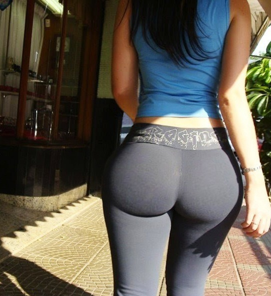 Black Women In Yoga Pants - Fat Pants