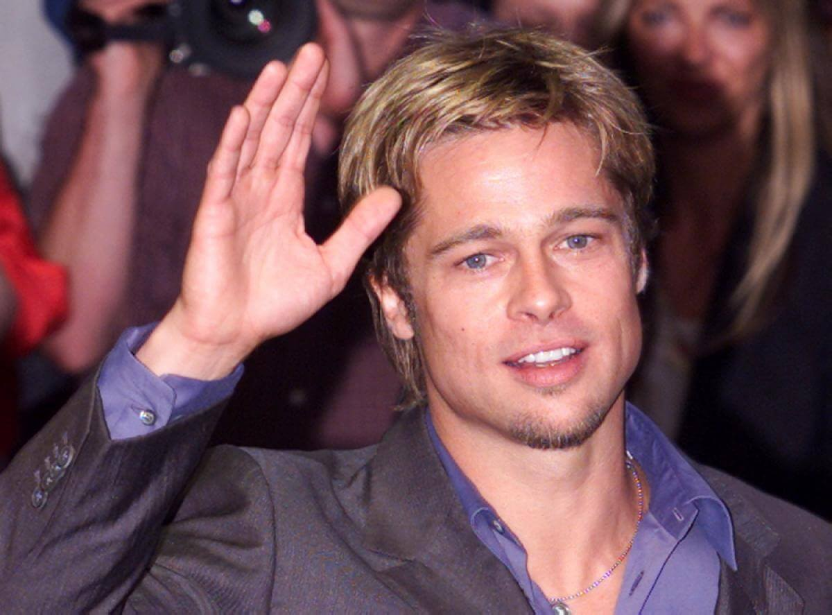 Brad Pitt makes his way through the Hollywood ranks