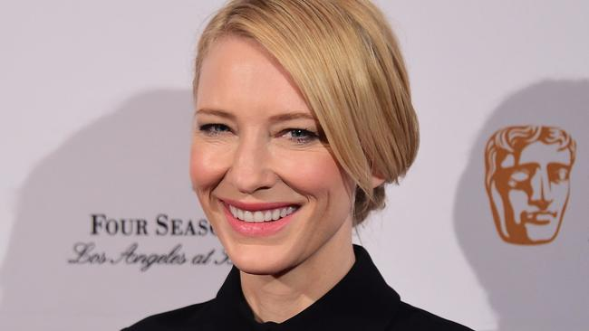 Cate in present times and stylish as ever
