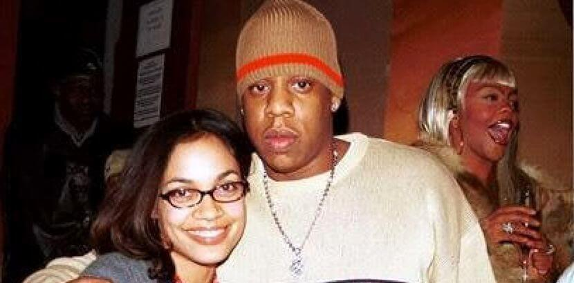 Rosario and hip-hop star Jay-Z