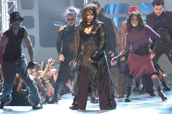 Janet Jackson — and the music does not stop
