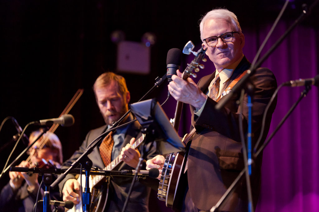 Steve Martin performs at the Highline Ballroom in New York City on March 14, 2011.
