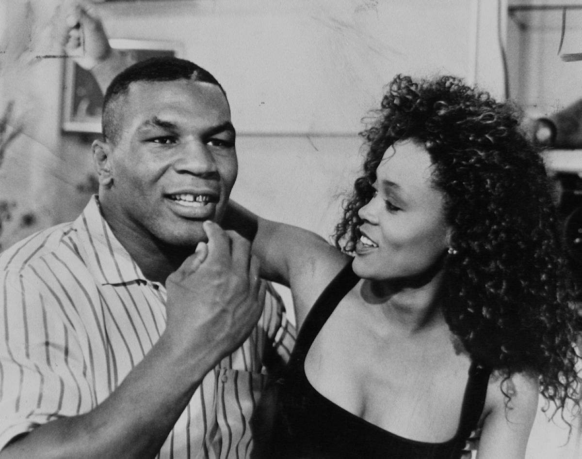 Mike Tyson and Robin Givens – 9 months