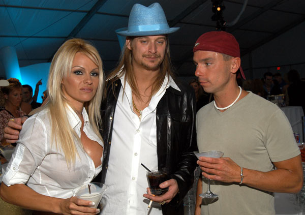 Pamela Anderson and Kid Rock – 4 months