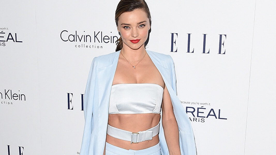 Do You Give a Care About Miranda Kerr's Abs?