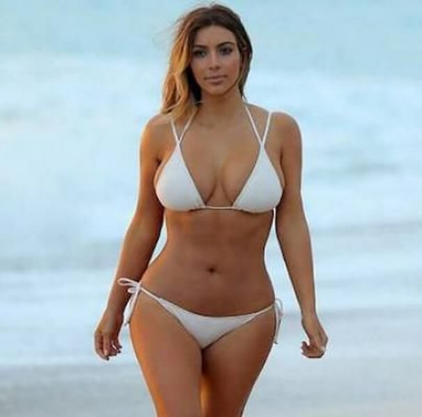 Kim K is Thick Like Peanut Butter!