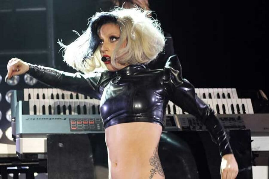 The Jaw-Dropping Lady Gaga and the Abs of Steel
