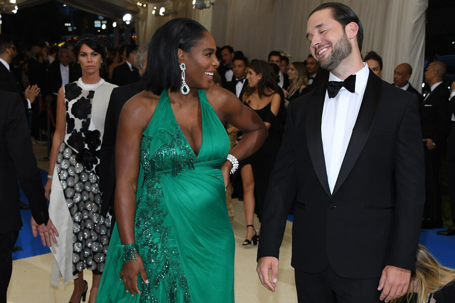 alexis ohanian and serena williams are worth a lot of money togther