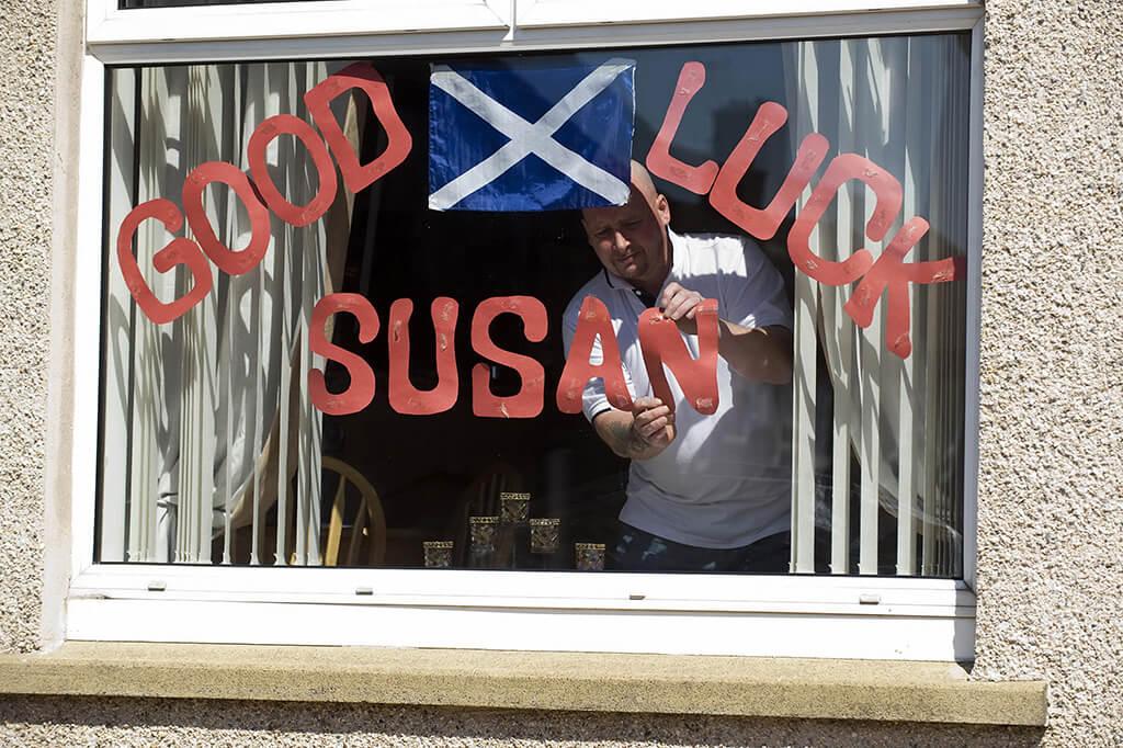Residents of Blackburn in West Lothian i