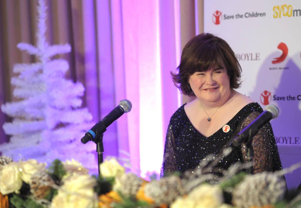 Susan Boyle duet announcement