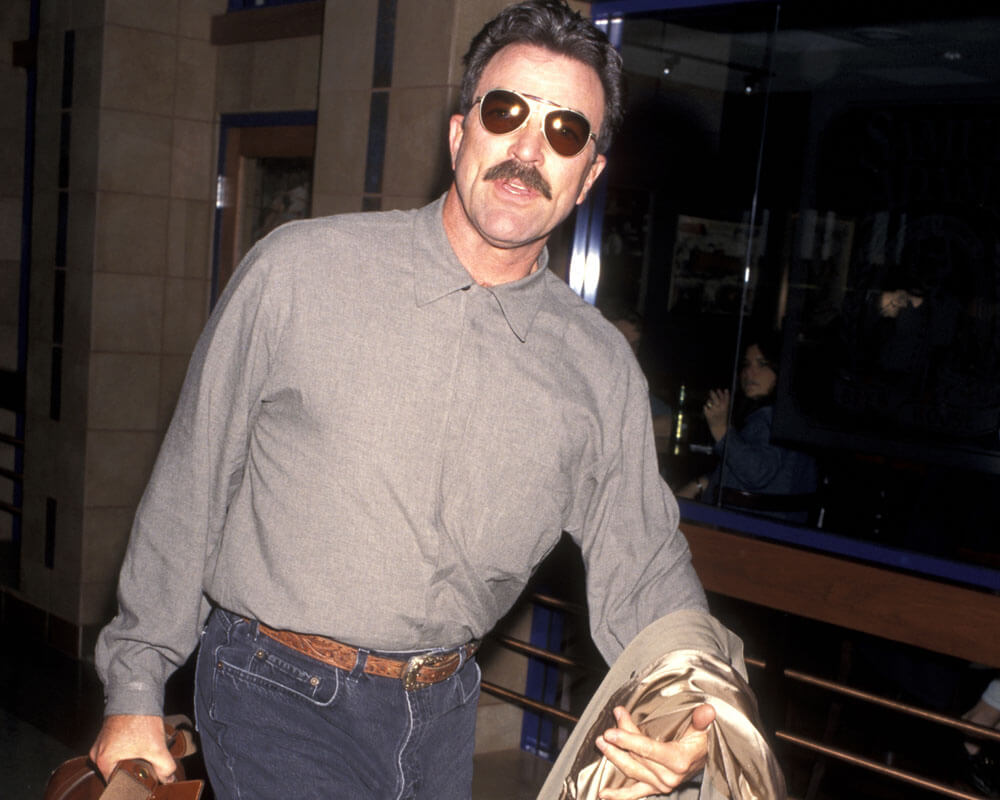 Tom Selleck Sighting - April 12, 1997