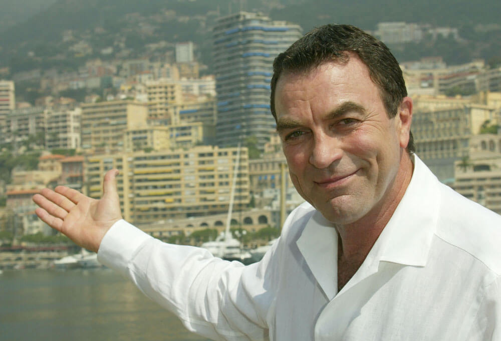 2004 Monte-Carlo TV Festival - Tom Selleck Interview with