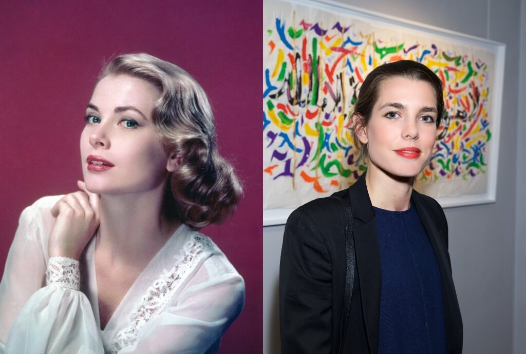 grace kelly charlotte casiraghi
