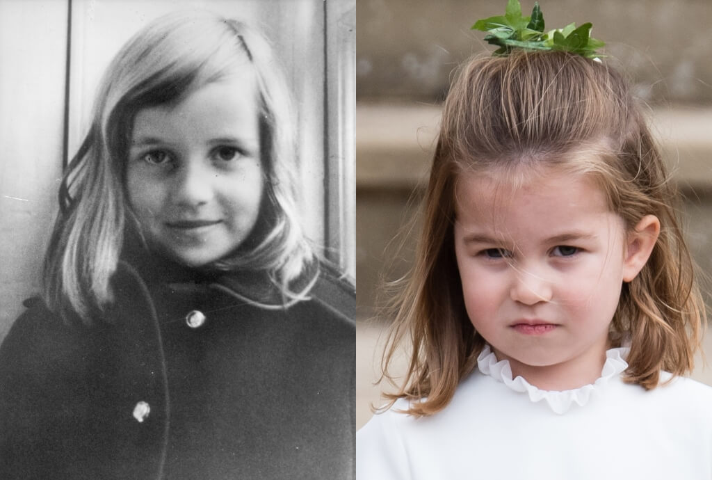 princess diana princess charlotte