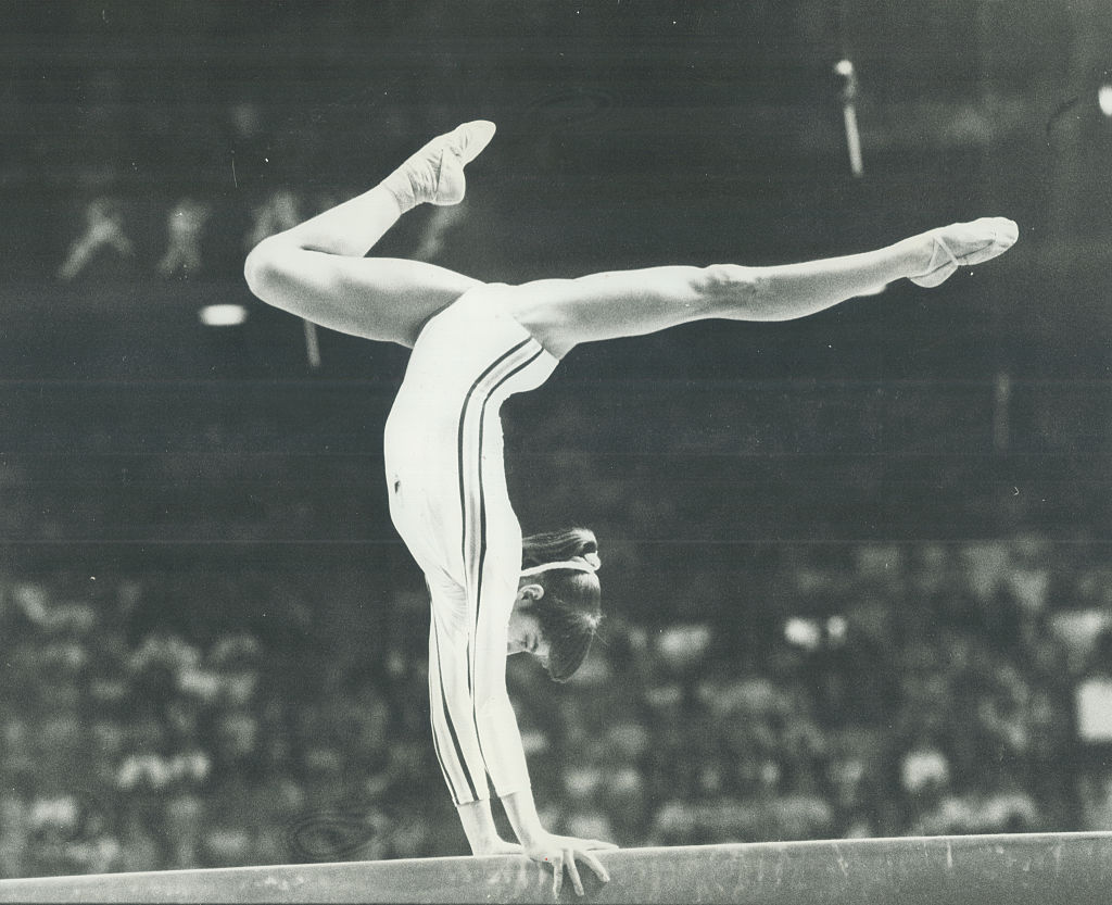 Nadia Comaneci 1976 olympics