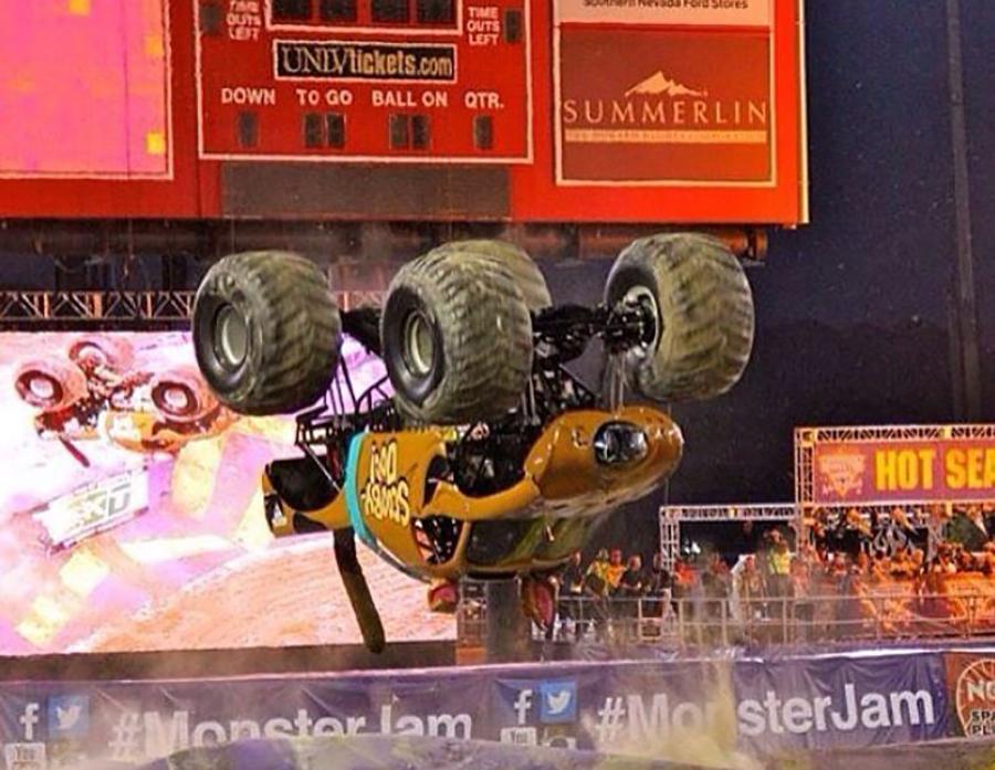 nicole-johnson-monster-truck-driver-backflip