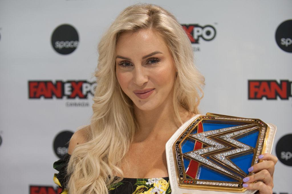 wrestlemania all female main event ronda rousey, becky lynch, charlotte flair