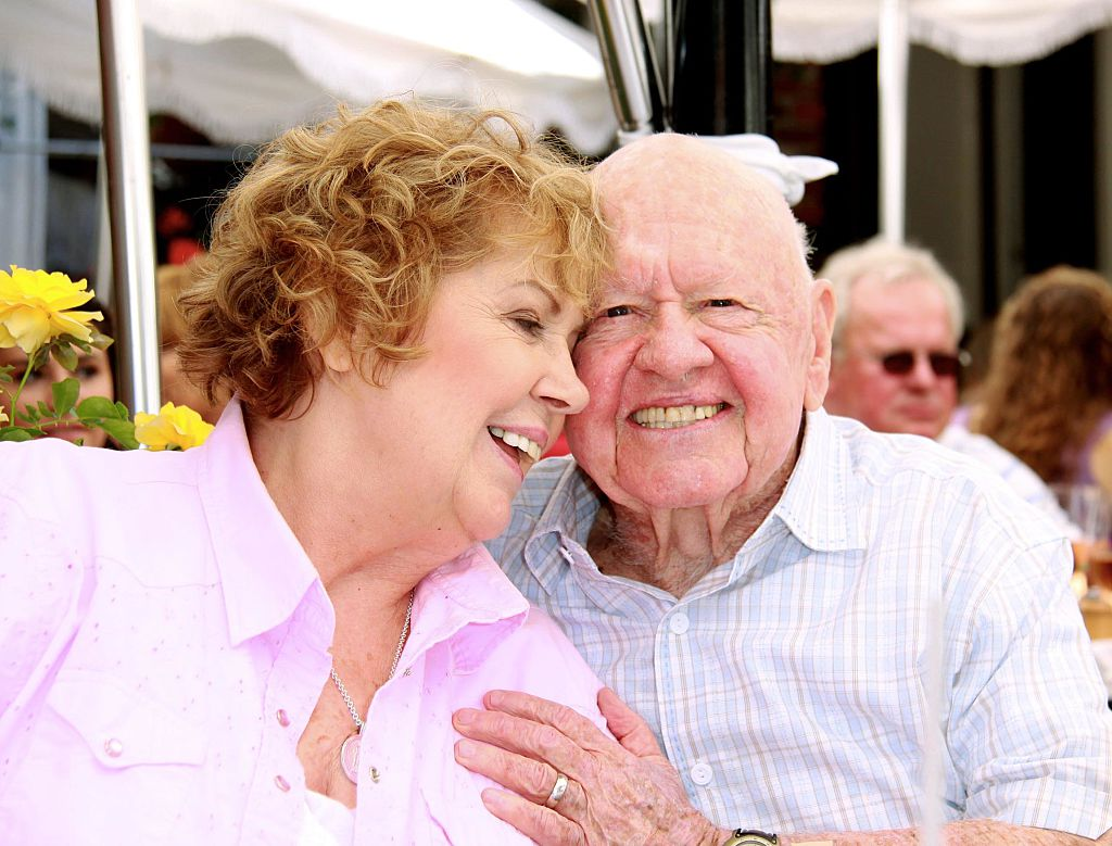 Mickey Rooney and Jan