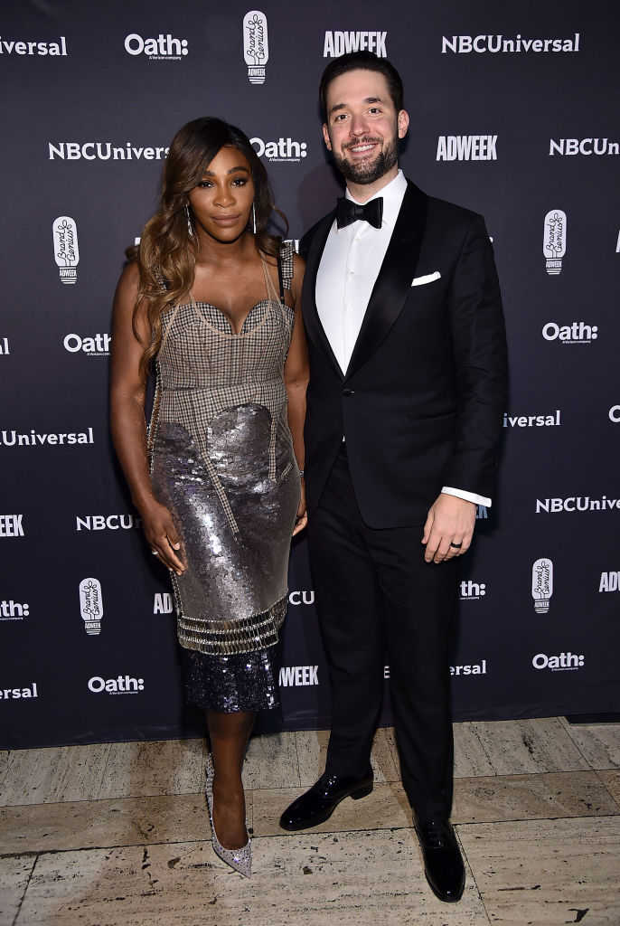 serena williams alexis ohanian first date