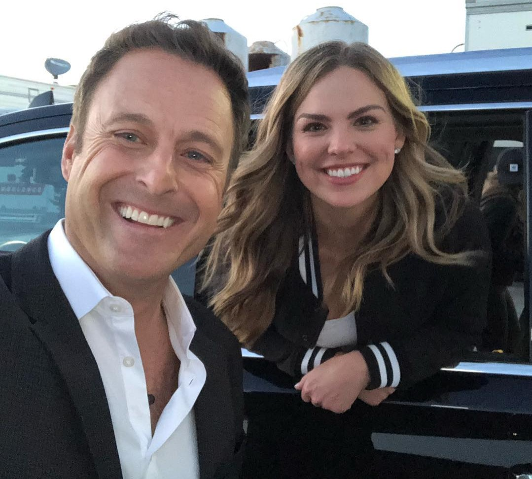 Chris Harrison w Hannah Brown from instagram