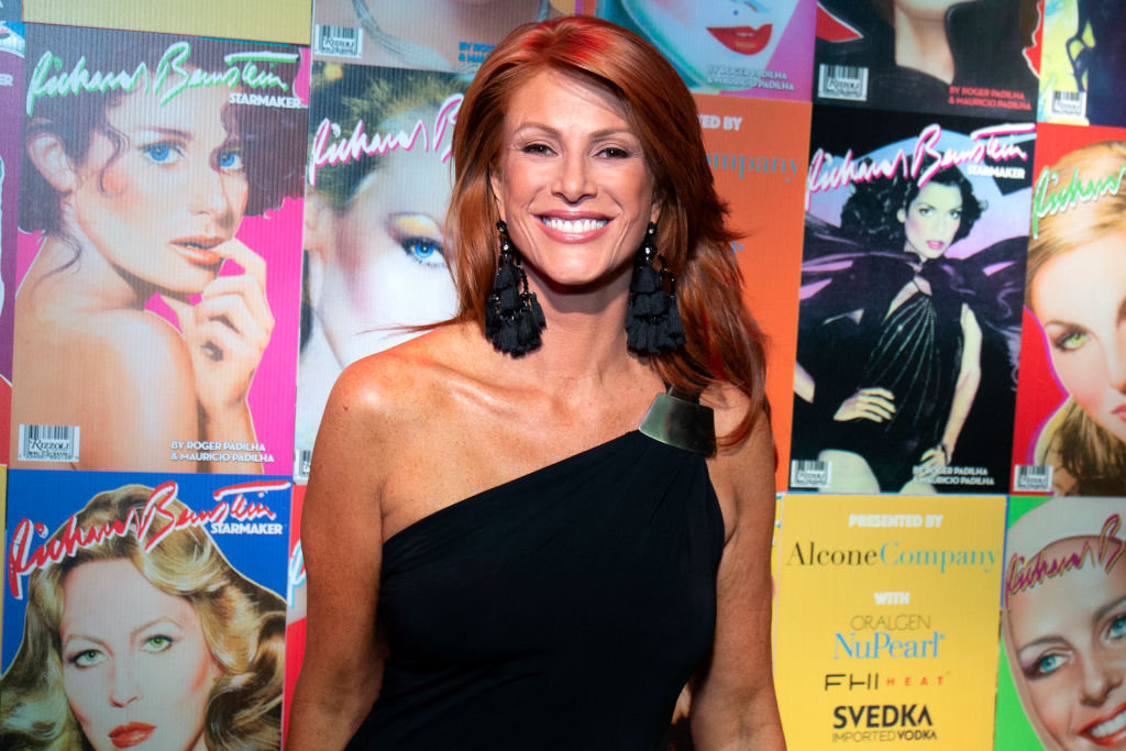 model Angie Everhart was involved with costner