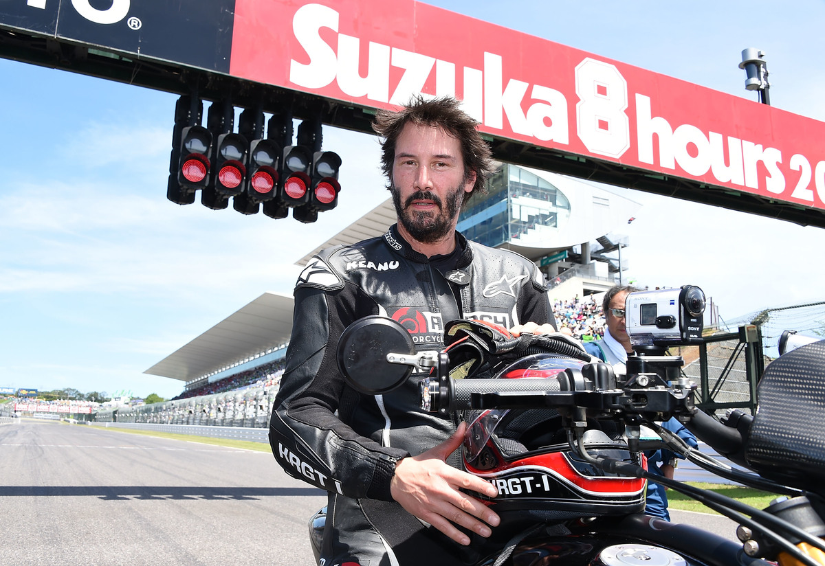 Keanu Reeves Suzuka Japan - July 2015
