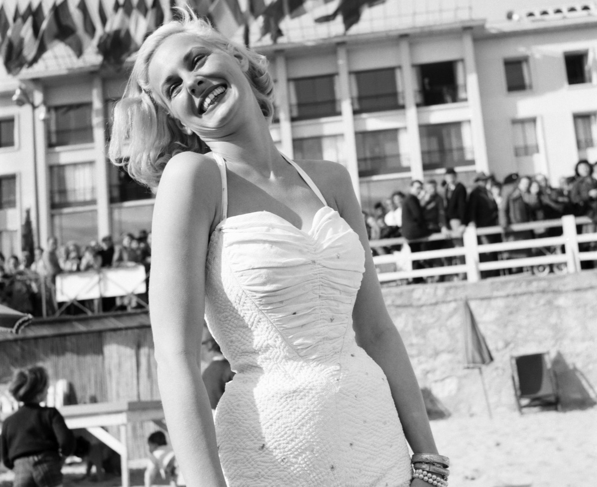 Cannes Film Festival 1953. Actress Roxanne Tunis.