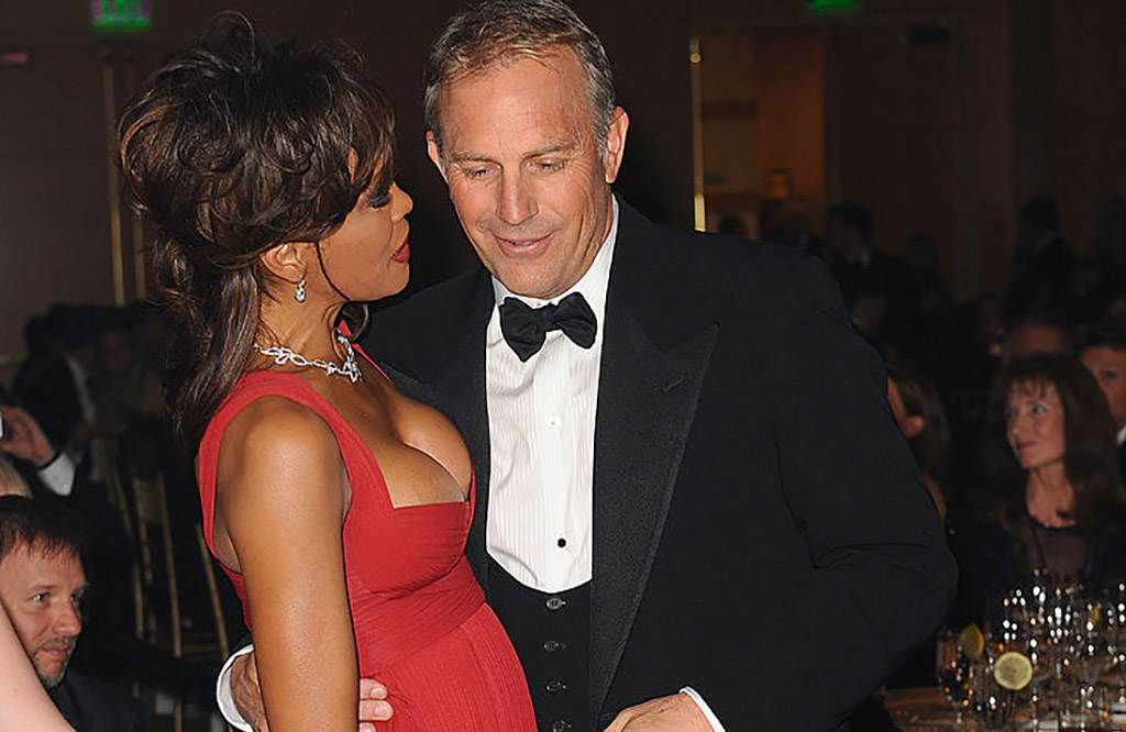 Whitney Houston and kevin costner