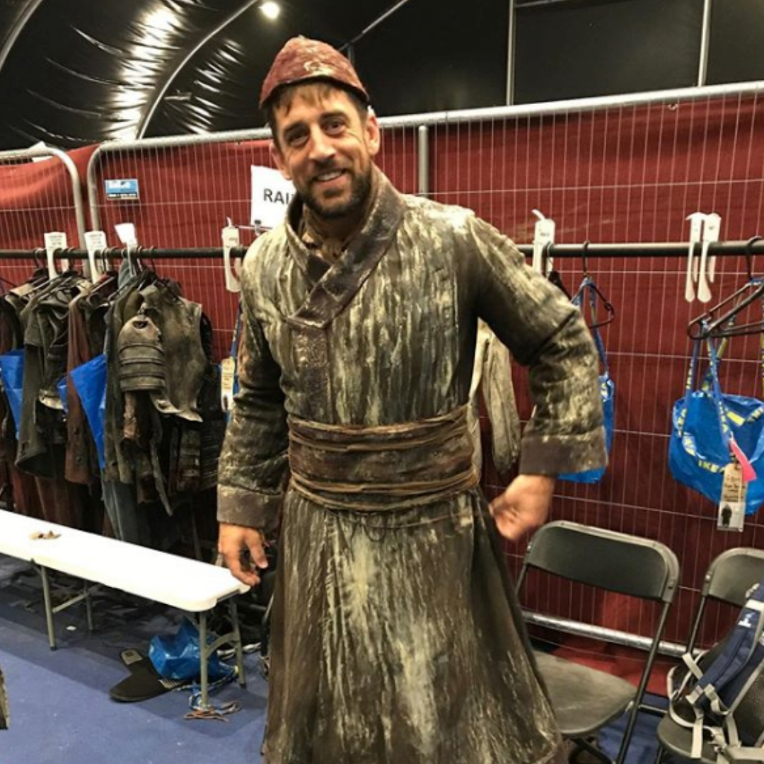 aaron rodgers cameo game of thrones