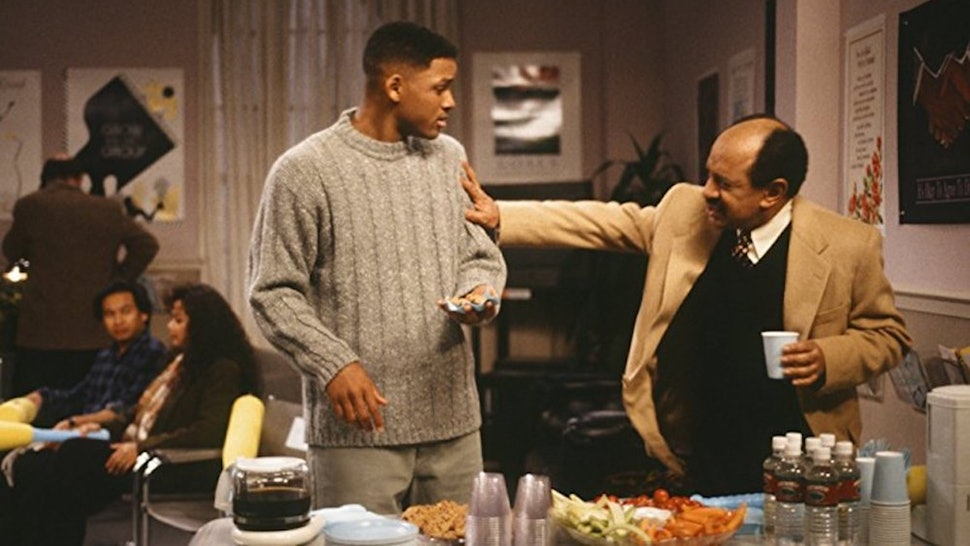 the jeffersons appeared on the fresh prince of bel air