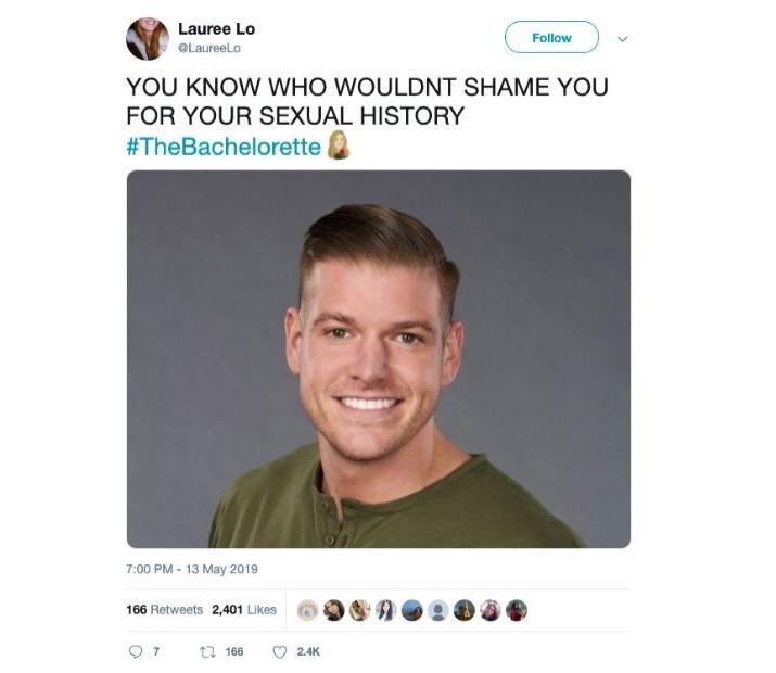 redemption for matt donald the bachelorette tweet