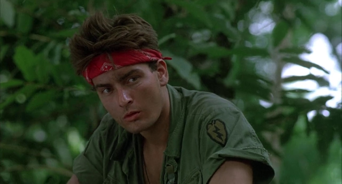 charlie sheen in platoon coming to netflix