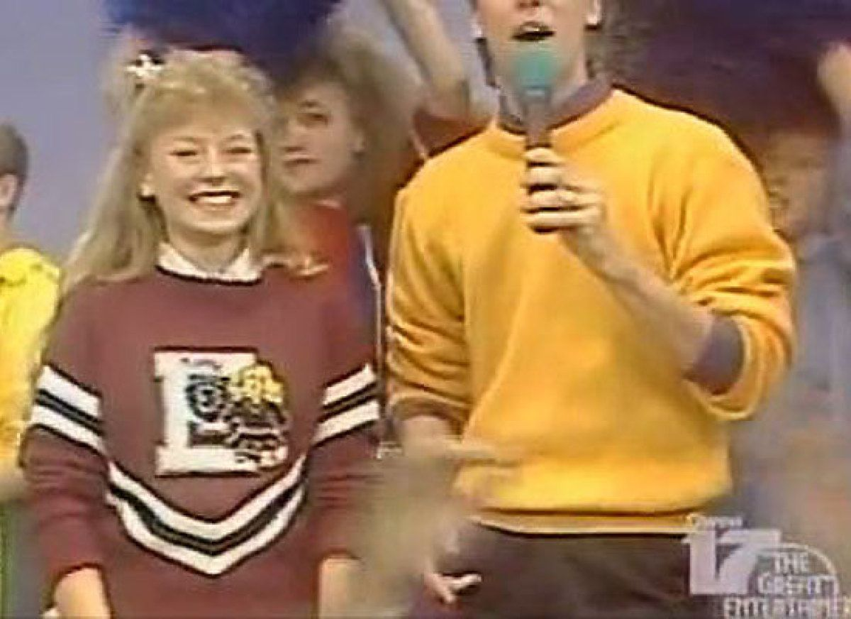 kelly ripa was on dance party usa