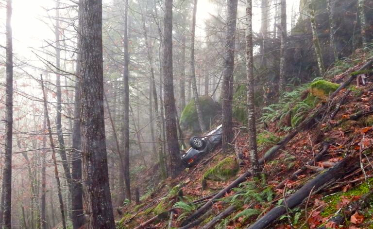 the missing porsche was found in oregon woods