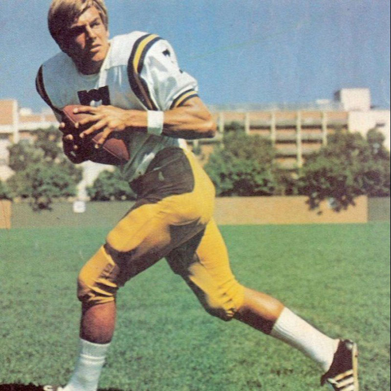 mark harmon as starting quarterback for ucla bruins