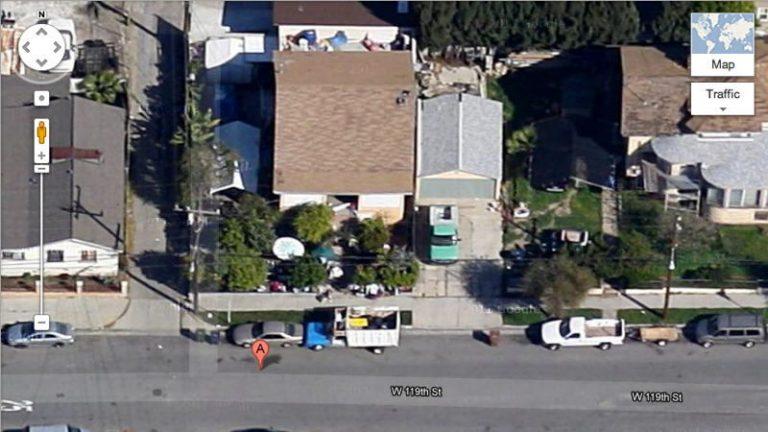 a google maps screenshot.