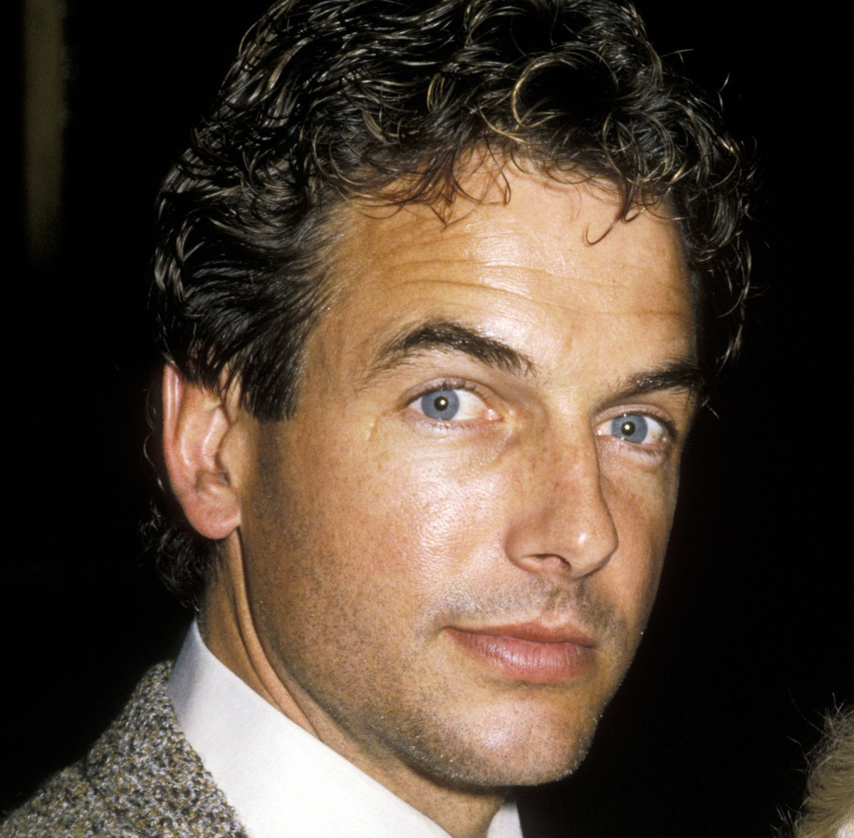 mark harmon at 1986 chinese new years party