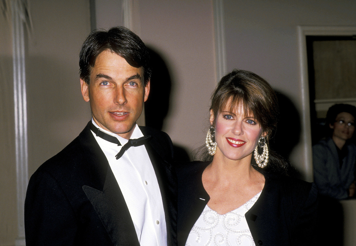 photo of mark harmon and pam dawber met in 1989