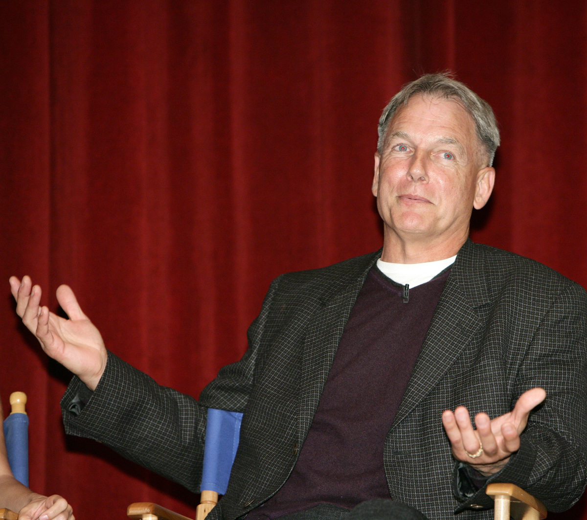 "Mark Harmon during CBS Paramount Network Television presents ""For Your Consideration"" screening of NCIS at Leonard H. Goldenson Theatre in North Hollywood, California"