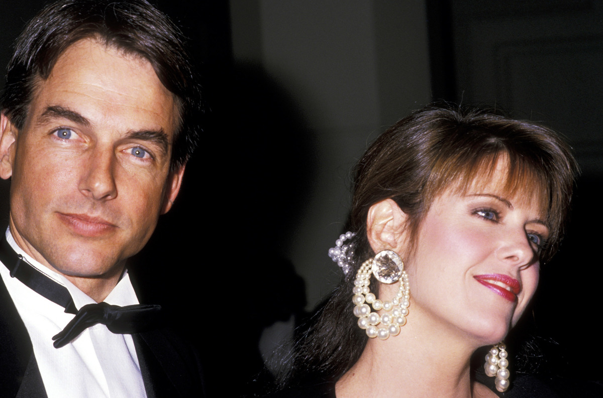 Mark Harmon and Pam Dawber during American Film Institute Honors Gregory Peck at Beverly Hilton Hotel