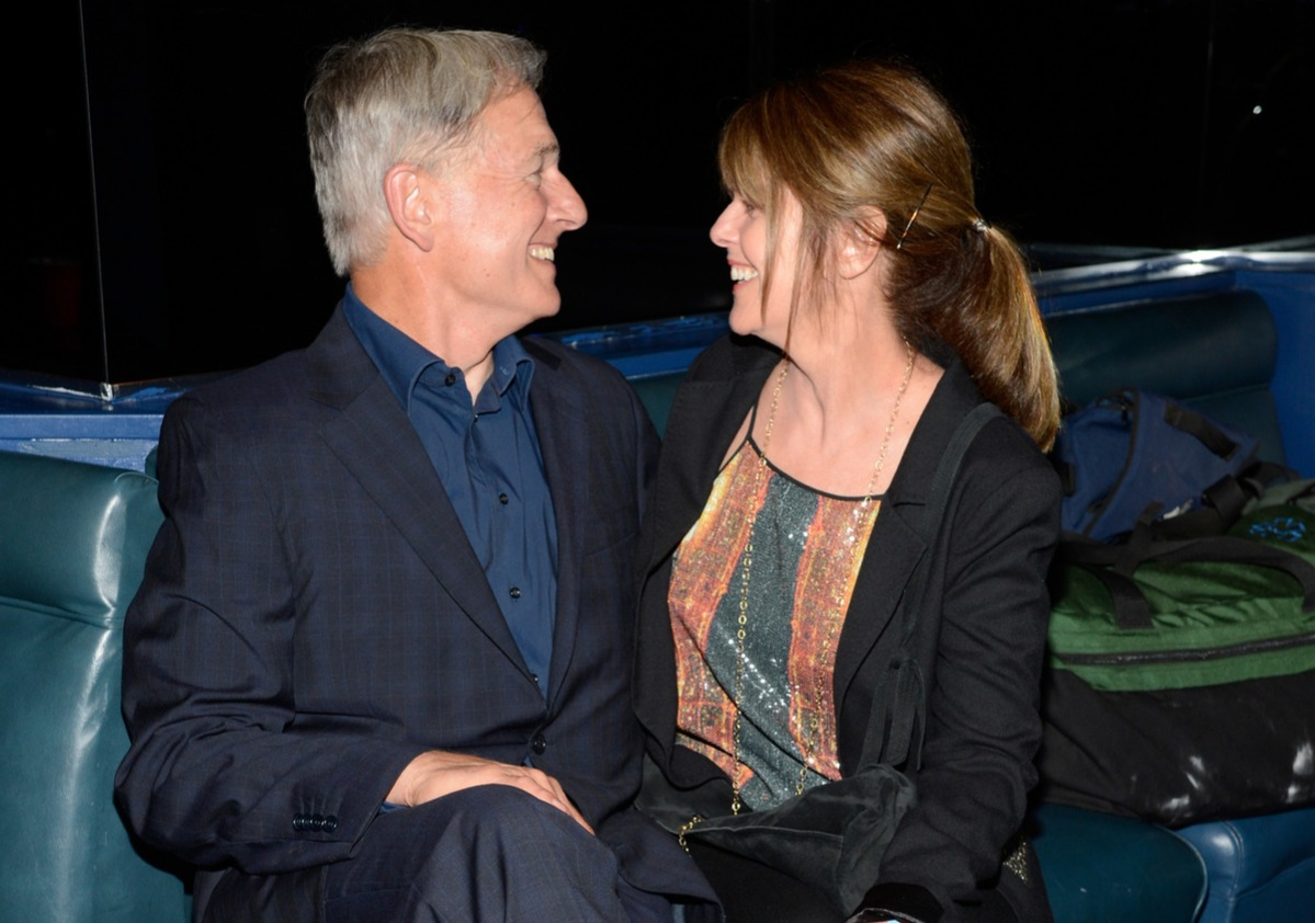 Actor Mark Harmon (L) and wife actress Pam Dawber attend the Rolling Stones performance at Echoplex on April 27, 2013 in Los Angeles, California.