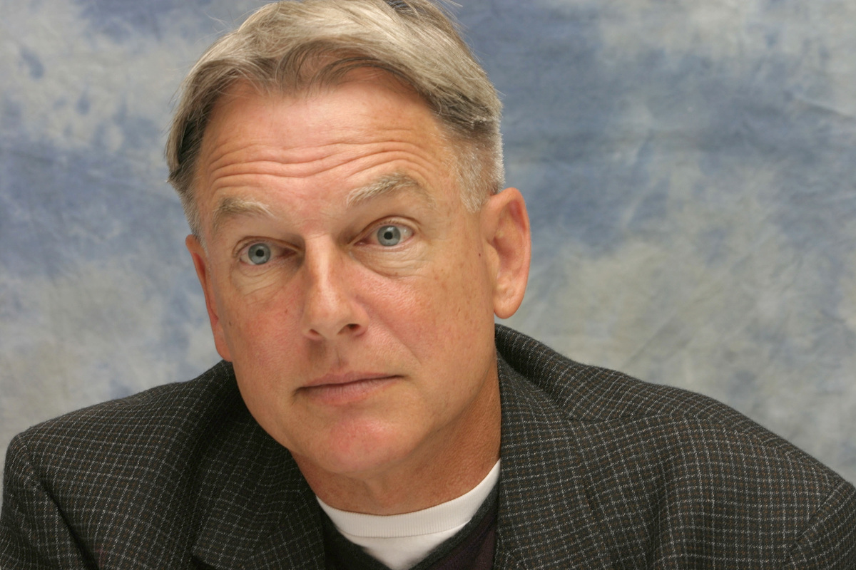 Actor Mark Harmon talks at the Four Seasons Hotel on May 9, 2006 in Los Angeles, California.