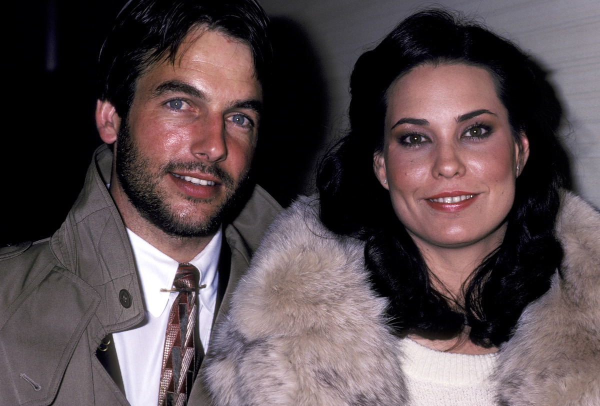 Mark Harmon and Christine Raines in 1981