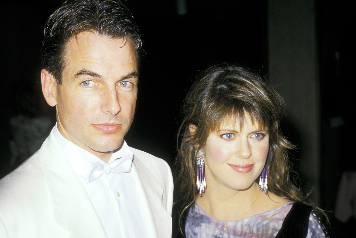 pam dawber and mark harmon in 1988