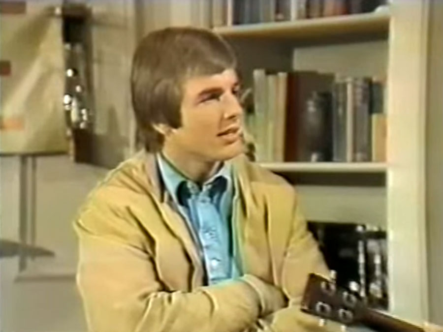 "mark harmon's second appearance on ozzies girls in 1974 episode ""the candidate"""