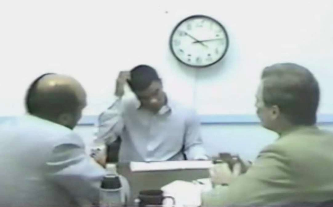 Screenshot from The Confession Tapes