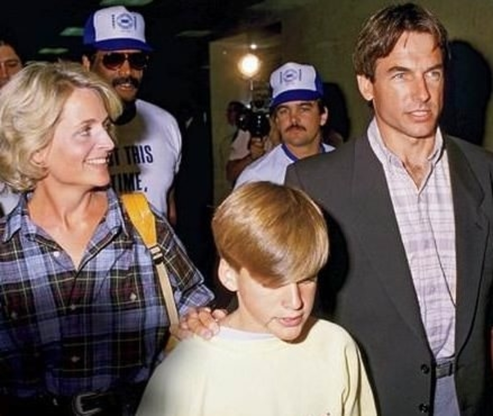 mark harmon custody battle nephew 1987
