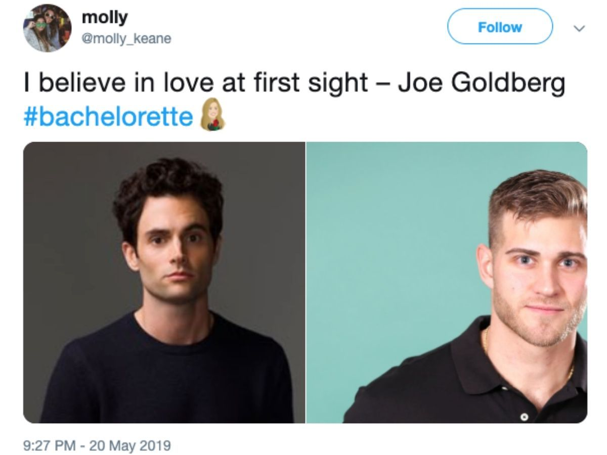 joe goldberg luke p bachelorette tweet