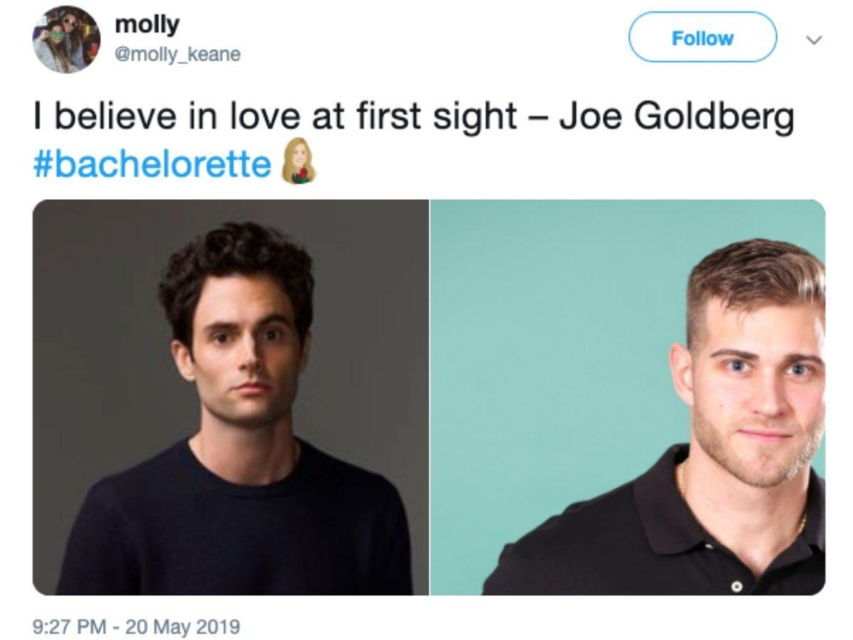joe goldberg luke p bachelorette tweet