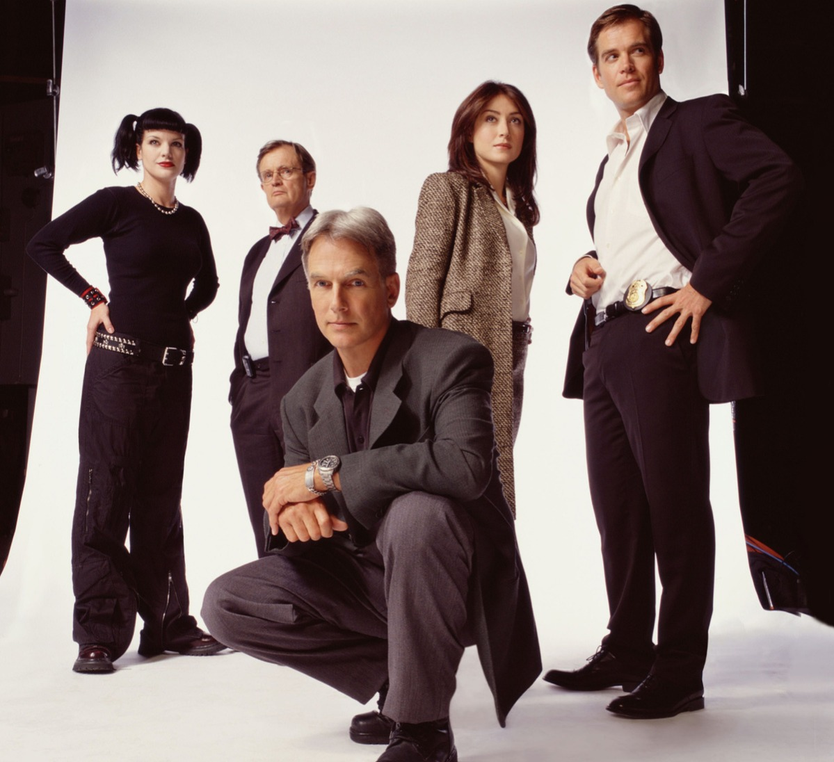 Mark Harmon, Pauley Perette, David McCallum, Sasha Alexander and Michael Weatherly star in NAVY NCIS